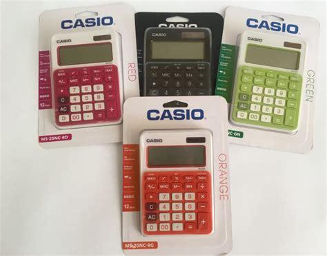 Kalkulator Casio Ms 20uc casio ms 20uc bk calculator shop yourdoor co za