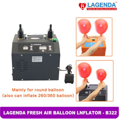 lagenda dual output programmable balloon inflator tons of balloons limerick