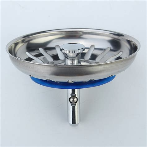 High Quality 1pc 304 Stainless Steel Kitchen Sink Strainer High Quality Stainless Steel Kitchen Sinks