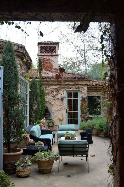 Tuscan Style Backyard Ideas Tuscan Style Courtyard Home Decore Ideas Pinterest Gardens Beautiful And Outdoor Living