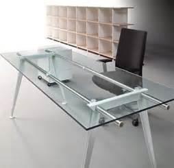 Executive Glass Office Desk Glass Executive Desk Officeinteriors
