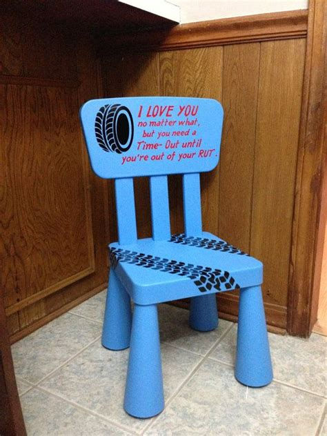 time out chair with timer time out chair kids furniture blue boys by thecraftygeeks