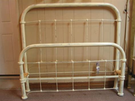 Iron Bed Full Size Circa Early 1900 S For Sale Antiques