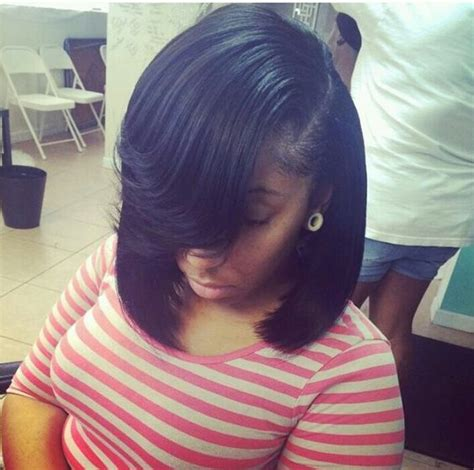picture of bob with deep part on the side bob kinda want hair pinterest beautiful follow
