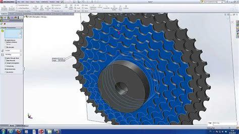 solidworks tutorial bike solidworks tutorial sprocket bike youtube