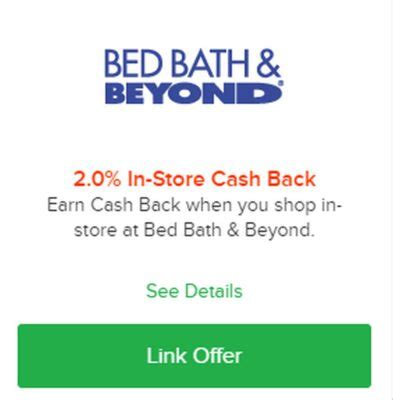 bed bath and beyond cashback bed bath beyond amex offer triple stacking opportunity