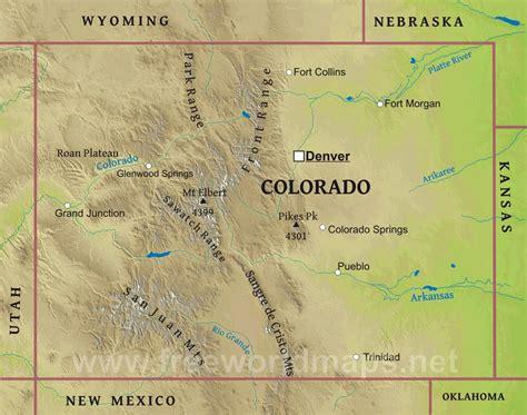 colorado mountains map my prairie publications san juan mountains colorado