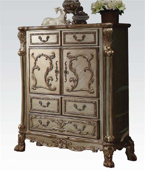 Dresden Furniture by Chest Dresden Gold By Acme Furniture Ac23166