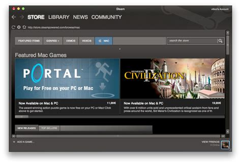 steam for mac now available 50 launch titles update it s live macstories