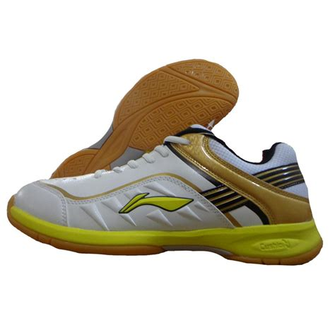 badminton shoes lining play badminton shoes white and yellow buy lining