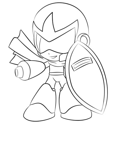 mega man printable coloring pages az coloring pages