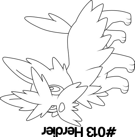 herdier pokemon coloring pages how to draw chopokemon