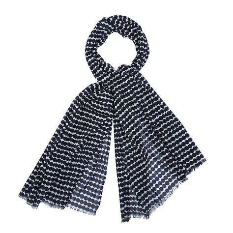 marimekko jarapa white black scarf marimekko scarves sale