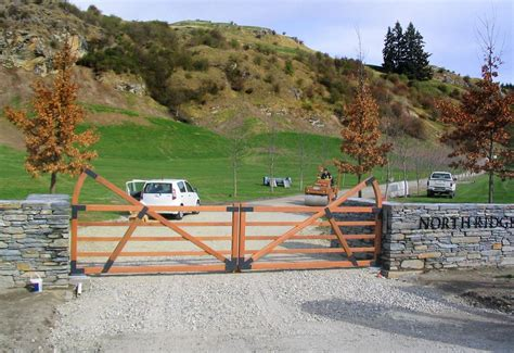 country style gates wooden gates country style wooden gates