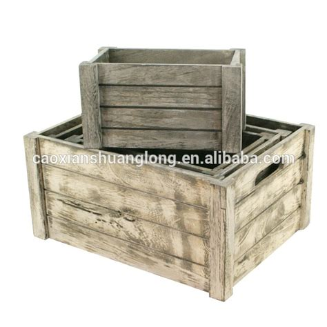 Natural Wood Box Fruit Crate Wooden Vegetable Crates Buy
