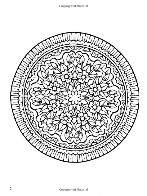 Amazon.com: Mystical Mandala Coloring Book (Dover Design