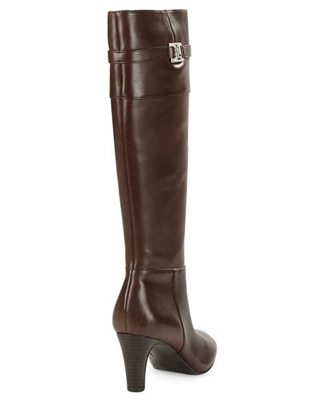 ralph leather boots by ralph sula leather knee high boots in