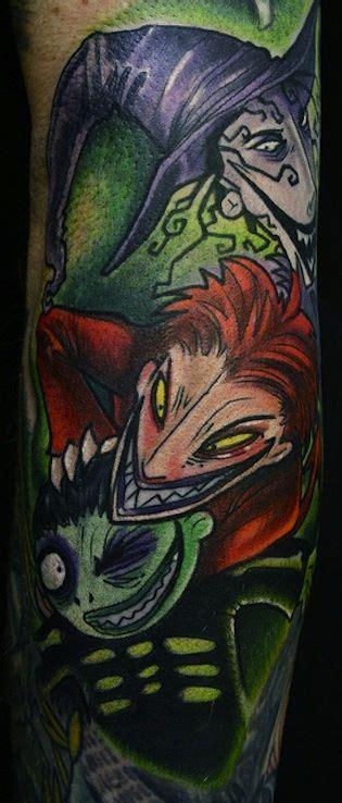 tattoo nightmares kickass monster tattoo halloween town and halloween film on pinterest