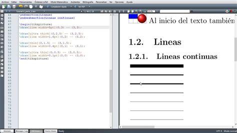 tutorial latex tikz latex texmaker tutorial 15 gr 225 ficas usando tikz l 237 neas