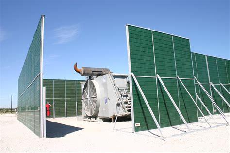 noise barrier walls  concrete blocks absorptive barriers