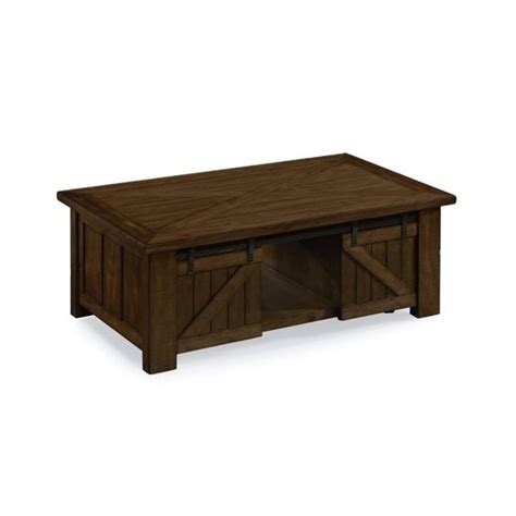 magnussen fraser lift top coffee table with casters in