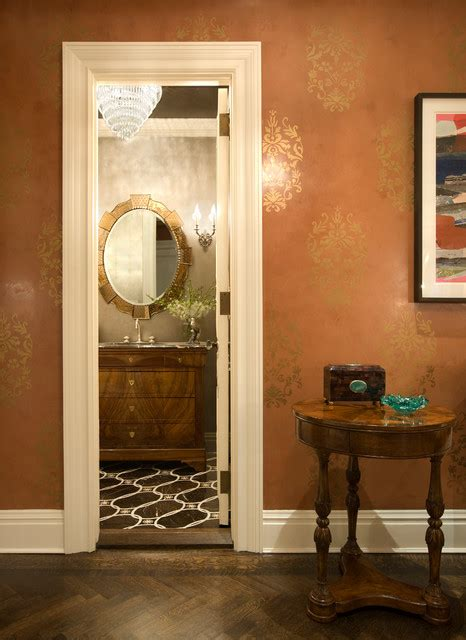 ct residence modern powder room new york by susan park avenue residence traditional powder room new