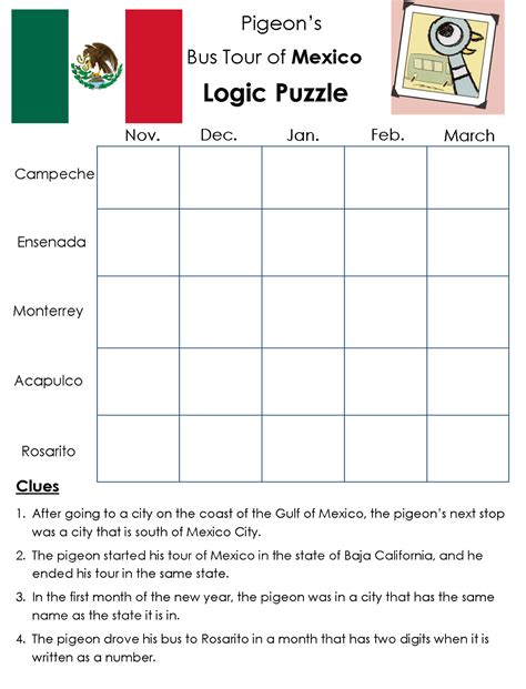 printable logic puzzles for 7th graders logic puzzles printable gameshacksfree bunch ideas of 7th