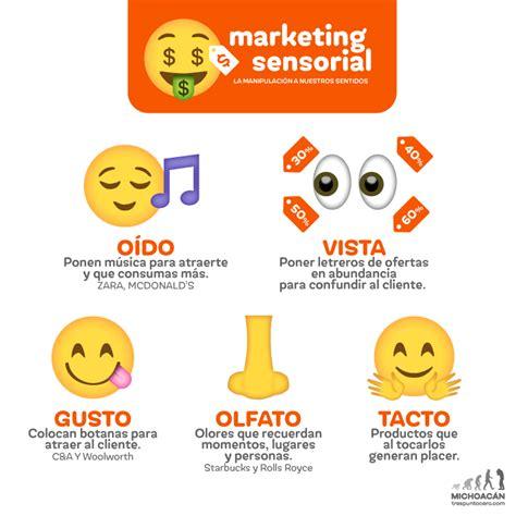 imagenes marketing sensorial infograf 237 a marketing sensorial la manipulaci 243 n a