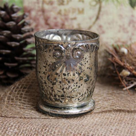 mercury glass home decor antique style mercury glass votive home decor ebay