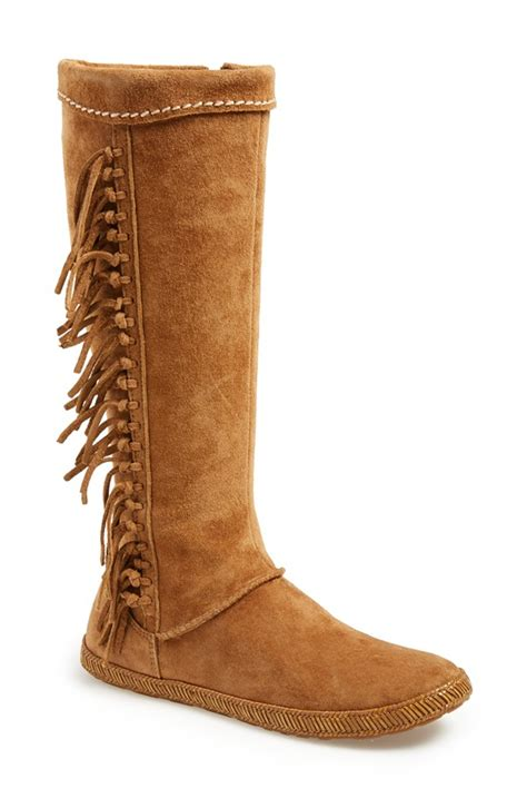 fringe boot fringe boots 5 fall boot styles