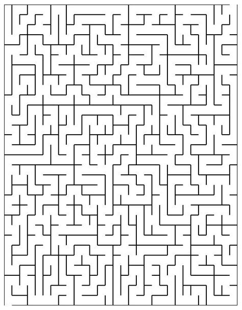 printable maze sheets printable mazes freeology