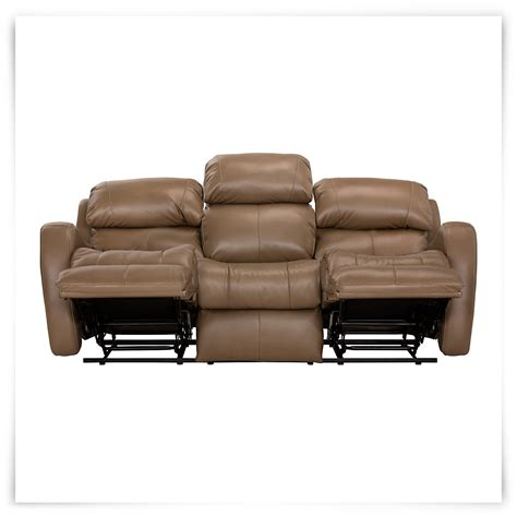 Brown Microfiber Reclining Sofa City Furniture Finn Brown Microfiber Power Reclining Sofa