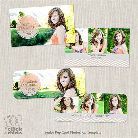 Free Rep Card Photoshop Template Millers by Senior Rep Card Template For Photographers 005 Millers And