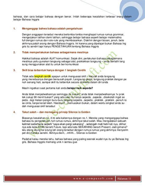 tutorial belajar bahasa inggris dengan cepat dan mudah ebook belajar bahasa inggris dengan mudah