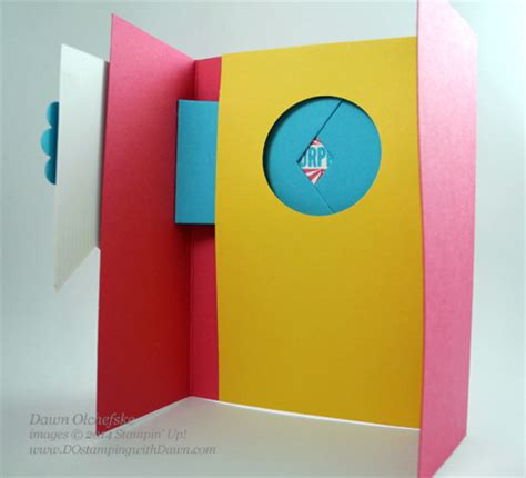 how to make a really cool birthday card dosting with stin up demonstrator 2013 2014