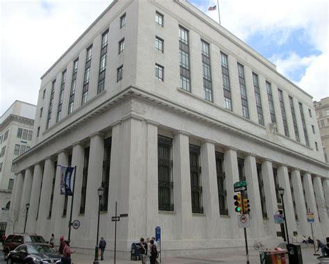 reserve federal bank federal reserve bank building philadelphia