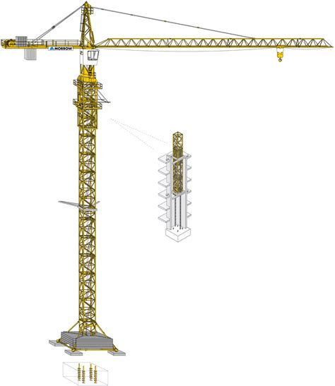 tower crane sections tower crane guide morrow