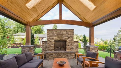 make your patio with the right roof interior
