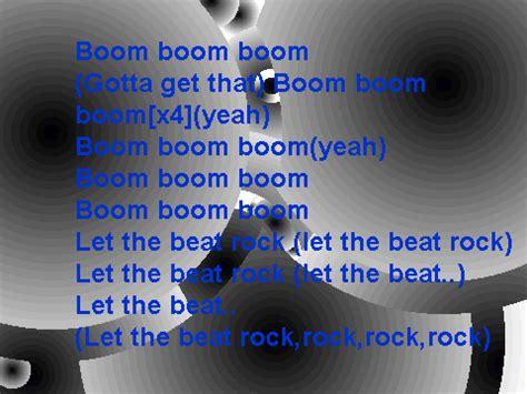 black eyed peas boom boom pow lyrics description black eyed peas boom boom pow lyrics 1 on scratch