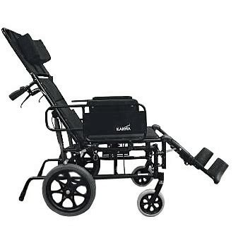 reclining transport chair karman ultra light reclining transport chair