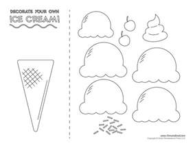 How To Decorate A Bulletin Board Ice Cream Templates And Coloring Pages For An Ice Cream Party