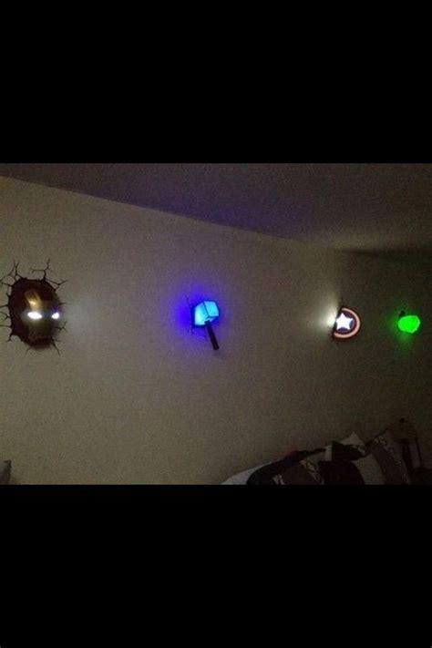 awesome night lights   childs superhero room atjaci