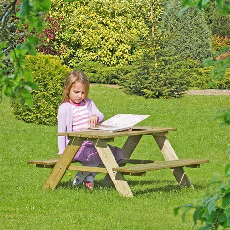 Gartentisch Mit Bank Fur Kinder