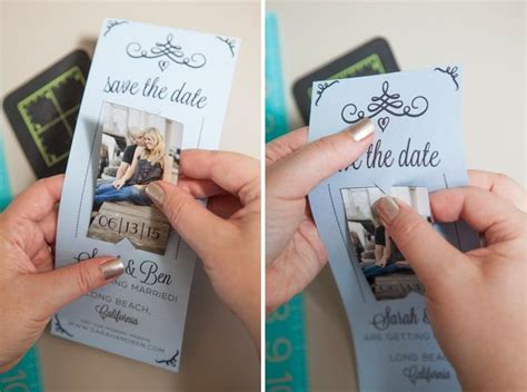 hand made save the date card ideas