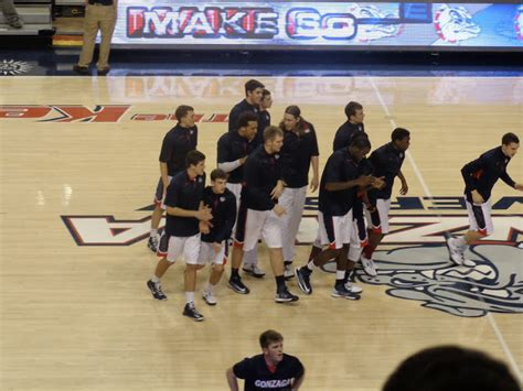 Gonzaga Student Section by A Day In The Gonzaga Bulldog Basketball