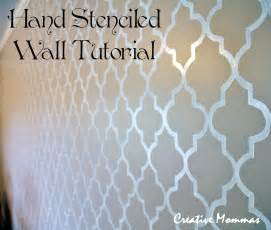 Wall Stencil Template creative mommas wall stencil template