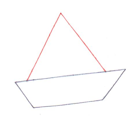 how to draw a boat from above 4 ways to draw a boat wikihow