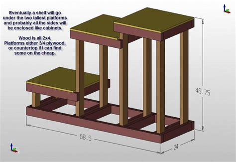 home brewery plans 3 tier brewing stand pallets pinterest larger