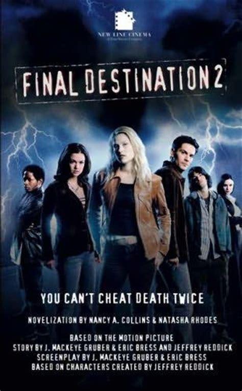 seri film final destination final destination 2 novel final destination wiki
