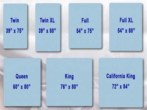 Mattress Size Chart   Bargain Beds Mattress Outlet
